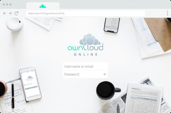 ownCloud.online lässt sich auch ohne IT-Kenntnisse mit einigen wenigen Clicks installieren. Bildquelle: ownCloud GmbH